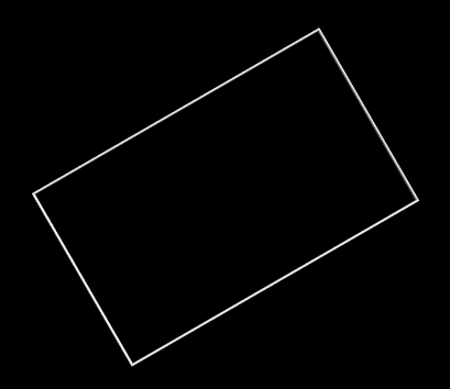 rotated rectangle