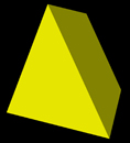extruded triangle